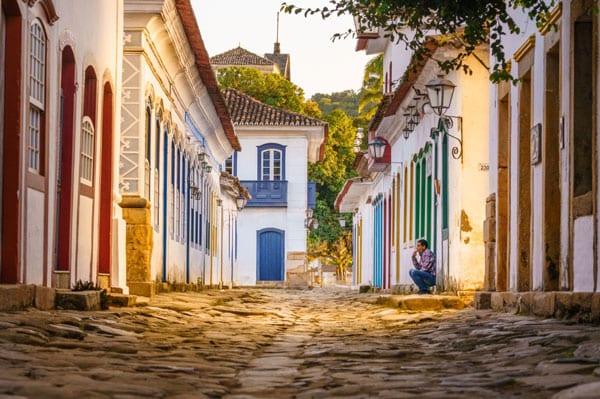 Foto das ruas de paraty