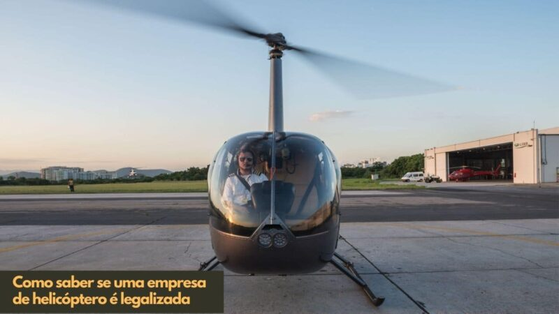 Como saber se uma empresa de helicóptero é legalizada