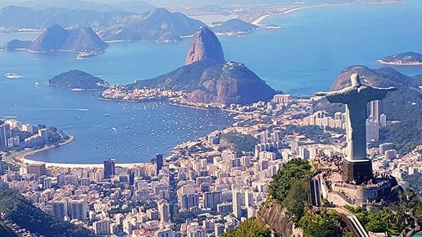 Passeio de helicoptero no Rio de Janeiro