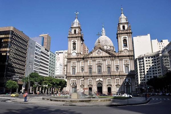 Igreja Nossa Senhora da Candelária no Rio de Janeiro