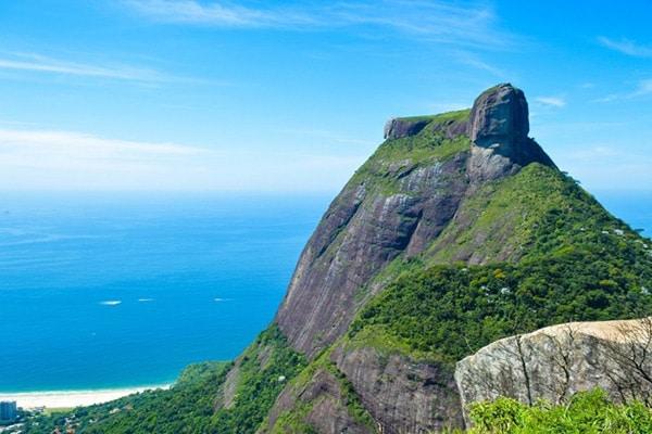 Pedra Bonita no Rio de Janeiro