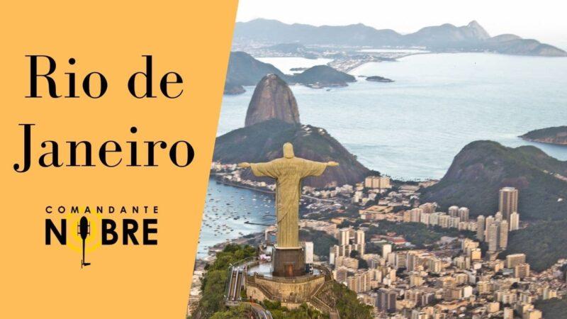 Porque o Rio de Janeiro é o lugar mais visitado do Brasil