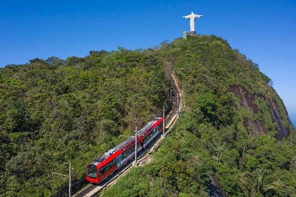 Trem do Corcovado até o Cristo Redentor