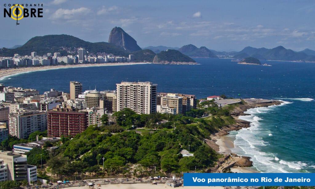 Voo panorâmico no Rio de Janeiro