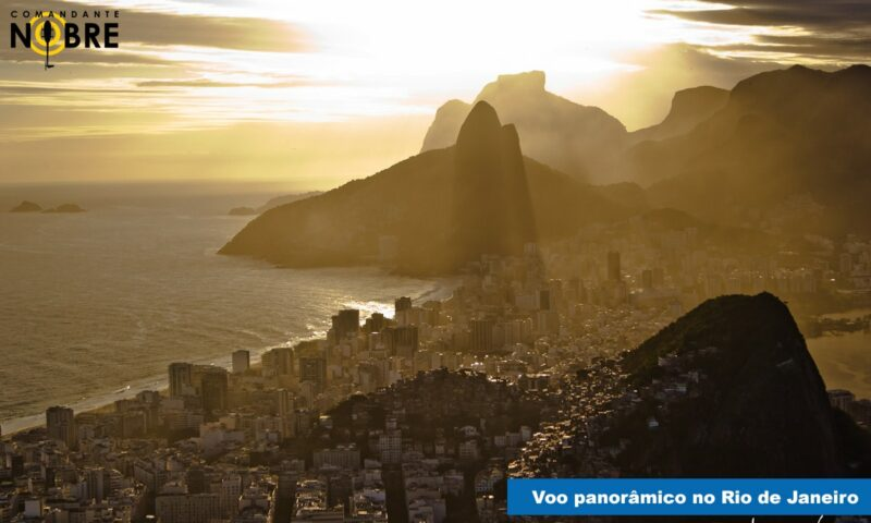 Voo panorâmico no Rio de Janeiro: preço e detalhes do passeio