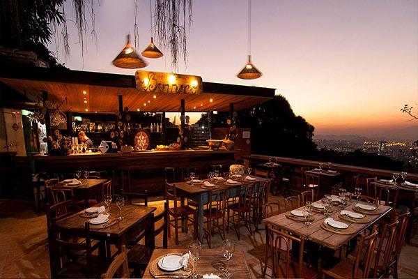 Jantar Romantico no Restaurante Térèze