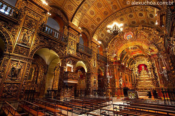 Mosteiro de Sâo Bento no Rio de Janeiro