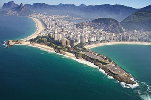 Passeio pela praia de ipanema e copacabana