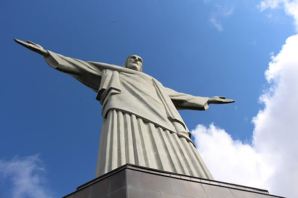 Passeio pelo Cristo redentor, ótimo lugar para turistas