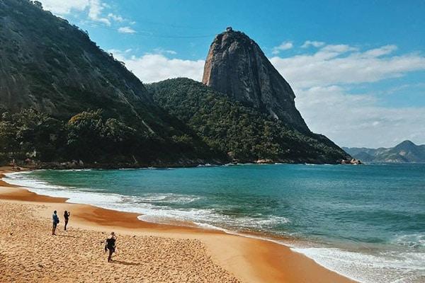 Praia Vermelha no Rio de Janeiro