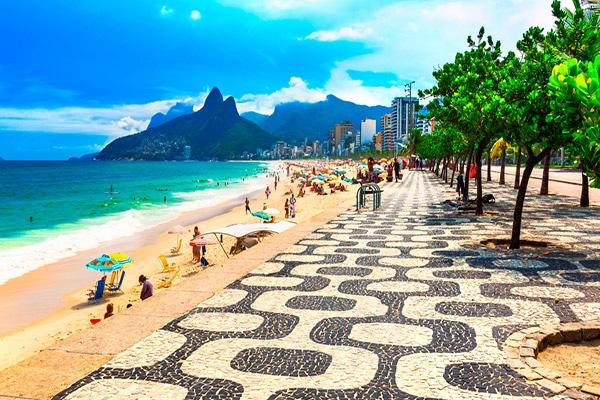 Passeio nas praias do Rio de Janeiro