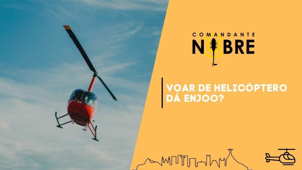 Foto de um helicóptero vermelho