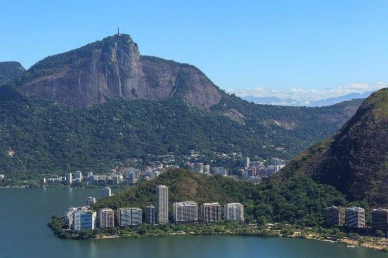 Foto do Morro do Corcovado