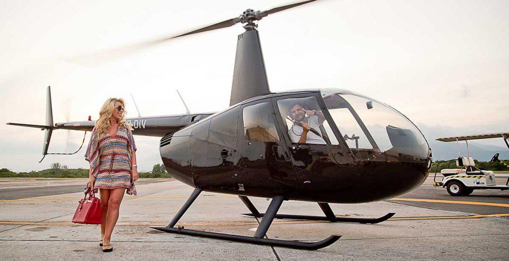 Quanto custa um passeio de helicóptero no Rio de Janeiro