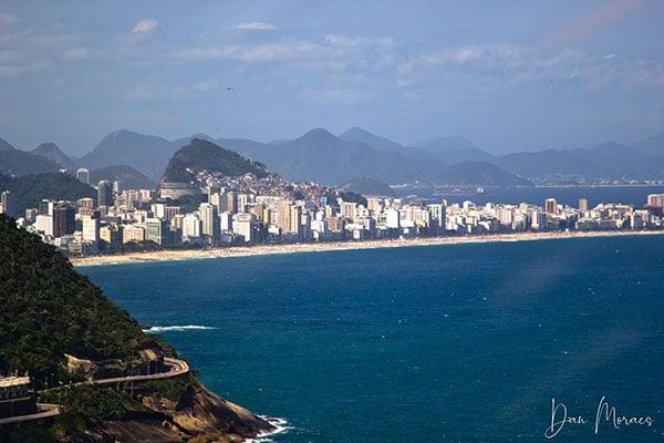 O Rio de Janeiro tem o Céu mais Azul do mudo