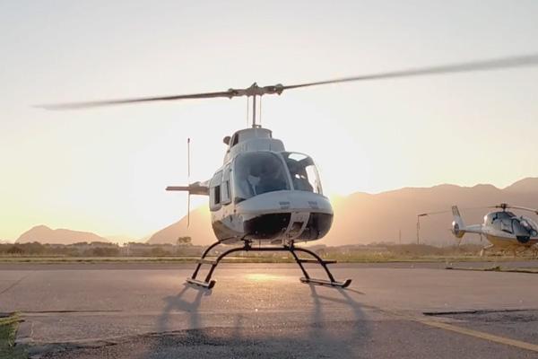 Passeio de Helicóptero Comandante Nobre