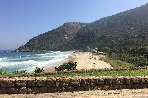 Praia de Grumari no Rio de Janeiro