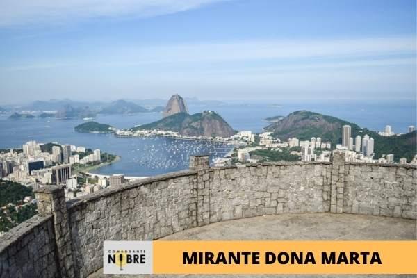 Foto do Mirante Dona Marte no Rio de Janeiro.