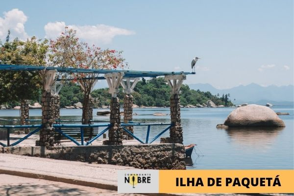 Foto de coreto na Ilha de Paquetá