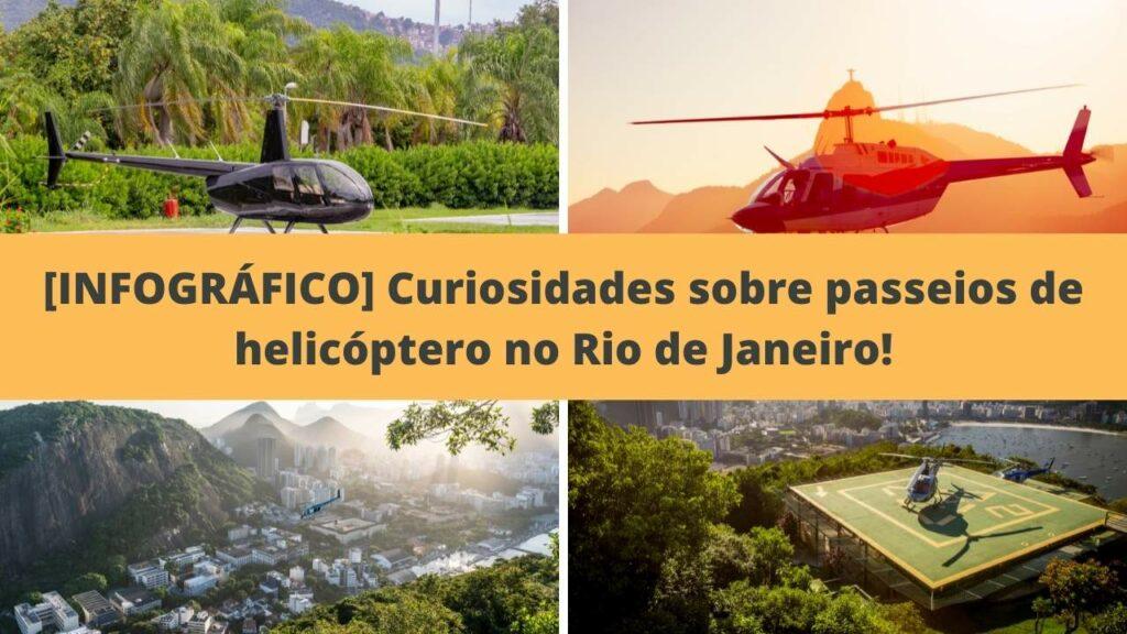 Imagem ilustrativa passeio de helicóptero Rj.