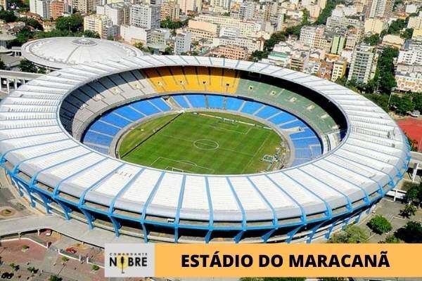 Imagem panorâmica Estádio do Maracanã.