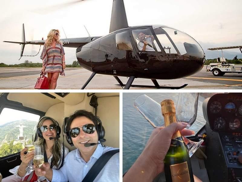 Como agendar um passeio de helicóptero no Rio de Janeiro.