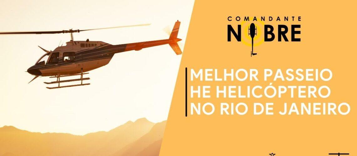 Melhor Passeio de Helicóptero no Rio de Janeiro