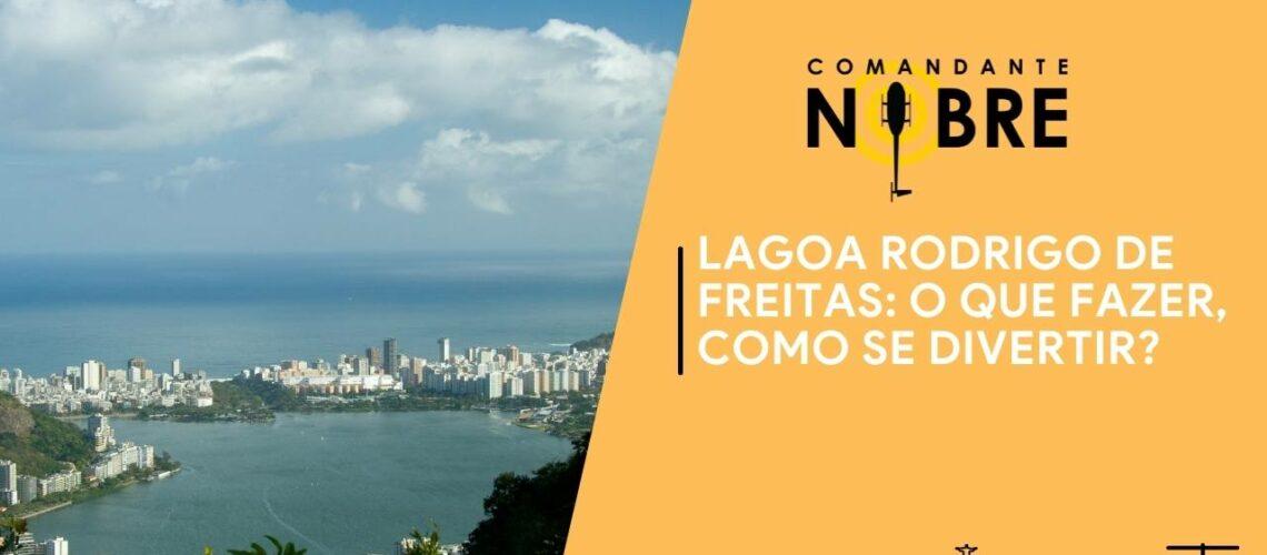 Foto da Lagoa Rodrigo de Freitas ao Fundo