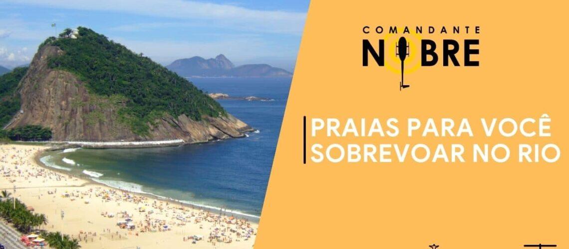 Praias para sobrevoar no Rio de Janeiro